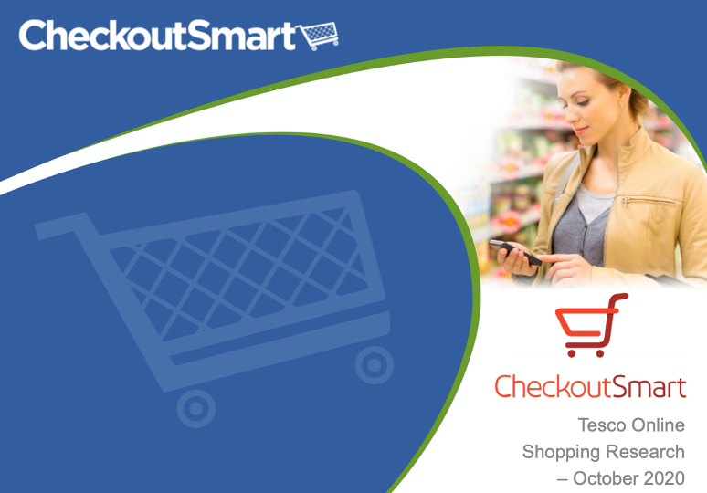 CheckoutSmart Tesco online shopper research 2020
